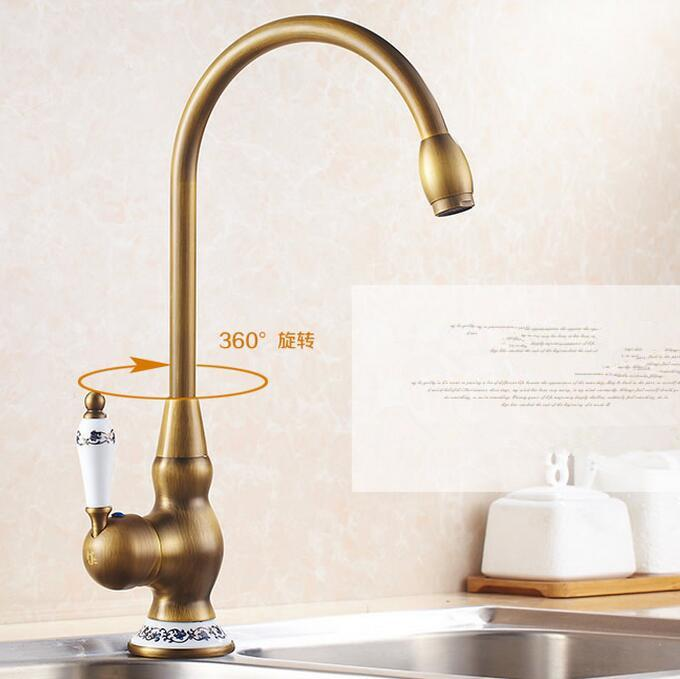 2019 ceramic kitchen faucet antique brass bathroom basin faucet rh dhgate com