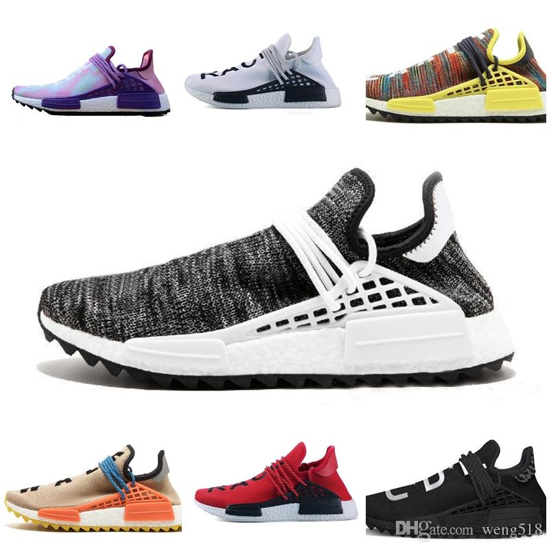 b42e7de37 Black Purple Equality Human Race Trail Running Shoe Holi Black Nerd Shoe HU  Trail Blank Cream Williams Yellow Pharrell Sport Sneaker 36 45 Sport Shoes  Mens ...