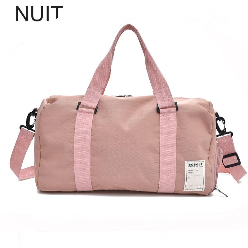 Large Waterproof Luggage Women Luxury Nylon Travel Bag Sac Marin Weekend Bags Ladies Luggage Travel Bags Weekendbag Suitcases