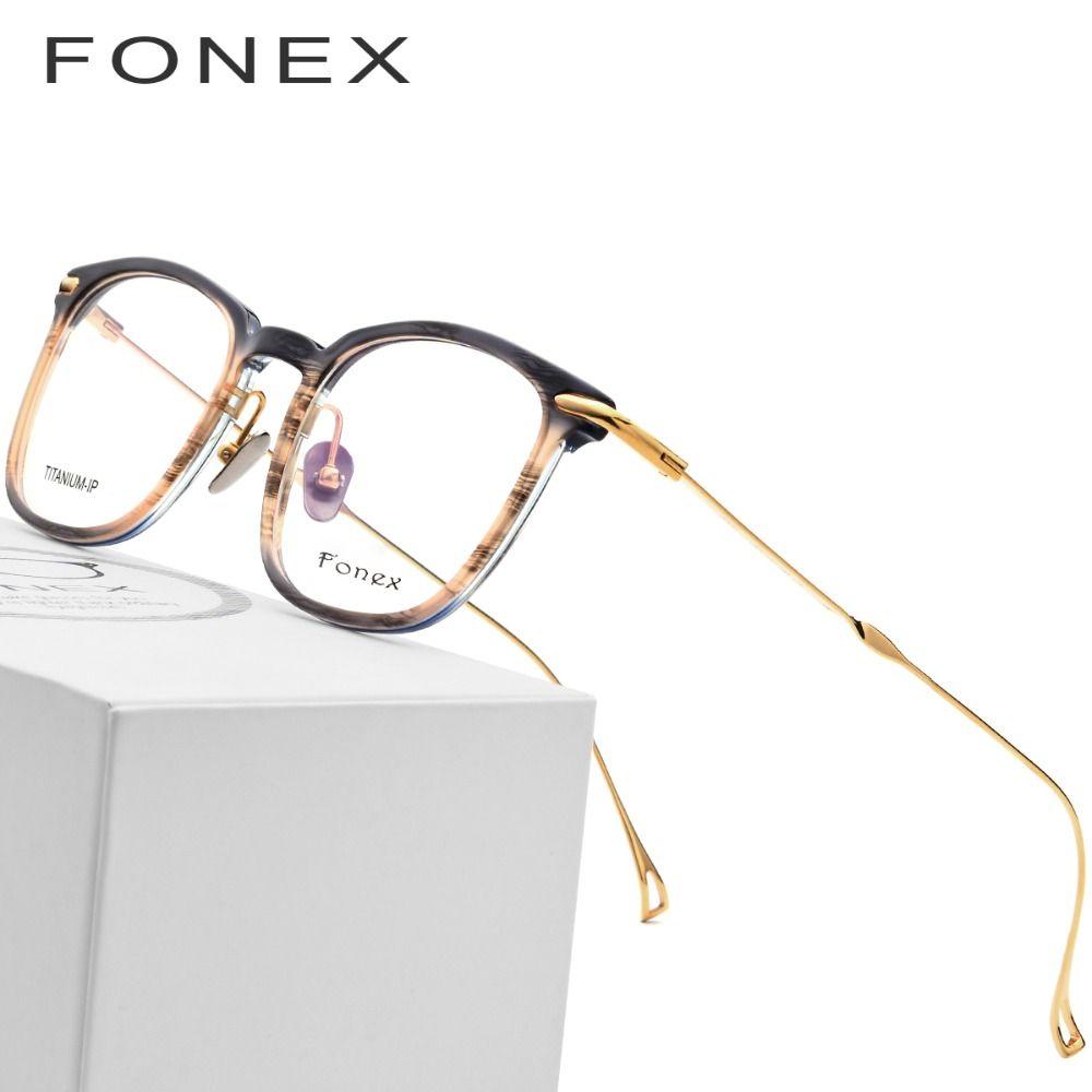 66d02257e90 2019 B Titanium Glasses Frame Men Ultralight Acetate Women High Quality  Prescription Transparent Spectacles Eyeglasses Korean Eyewear From Alley66