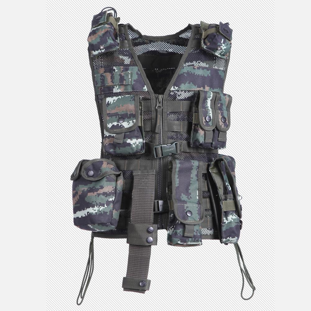 2017 Men's Clothing With Nine Pockets Filed Outdoors Casual Camouflage Men's Regular Vest Multi-Pockets Detachable Vest One Size