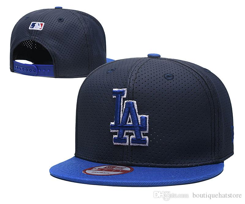 d065acb61e05d Compre Popular Hip Hop LA Baseball Snapback Sombreros Marcas Frannelette  Hip Hop La Out Door Sombreros Para El Sol Moda Deportiva Barata Ajustable  Para ...