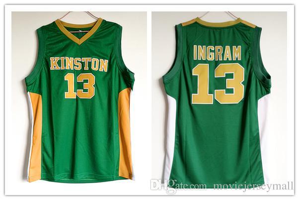 save off 8b58d e8615 #14 Brandon Ingram Kinston College Basketball Jerseys
