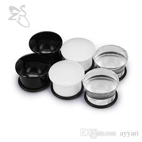 2019 5mm 20mm single flare acrylic ear plugs tunnel expander rh dhgate com