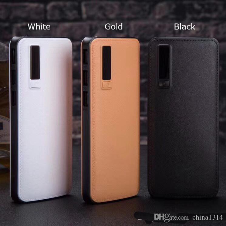 20000mAh LCD Power Bank телефон зарядное устройство-портативный внешний  аккумулятор LED и 3U