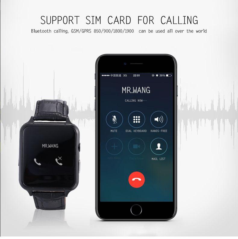 SIM kart kamera pedometre ile sıcak X7 akıllı izle uyku monitörü bluetooth telefonlar Android telefonlar için mikro SD FM radyo
