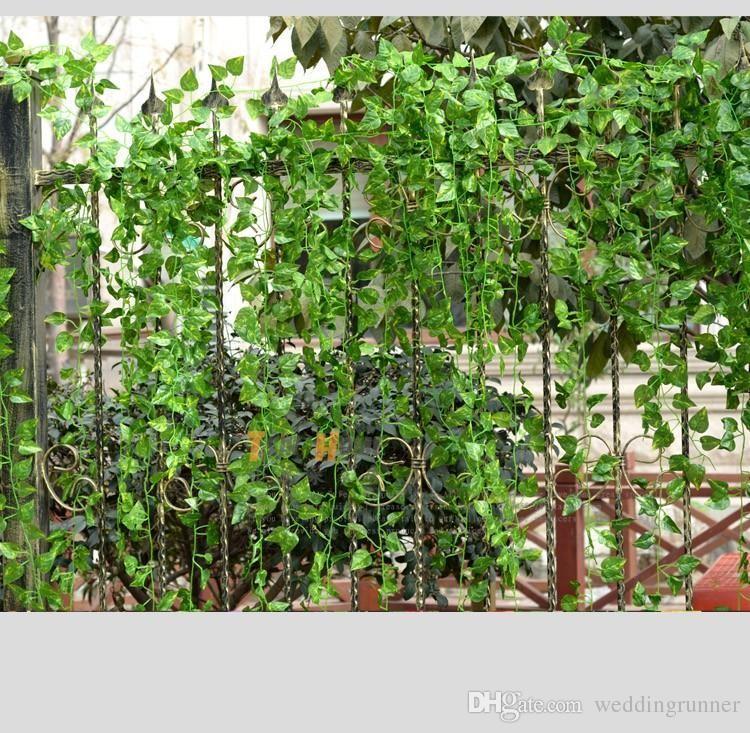 2019 240cm 7 8 feet long fake hanging vine plant leaves foliage rh dhgate com