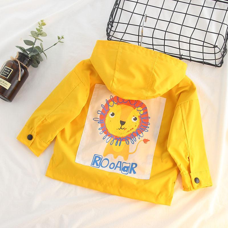 47e1f93c2 Children s Windbreaker 2018 Children s Clothes Boy Girl Long Trench ...