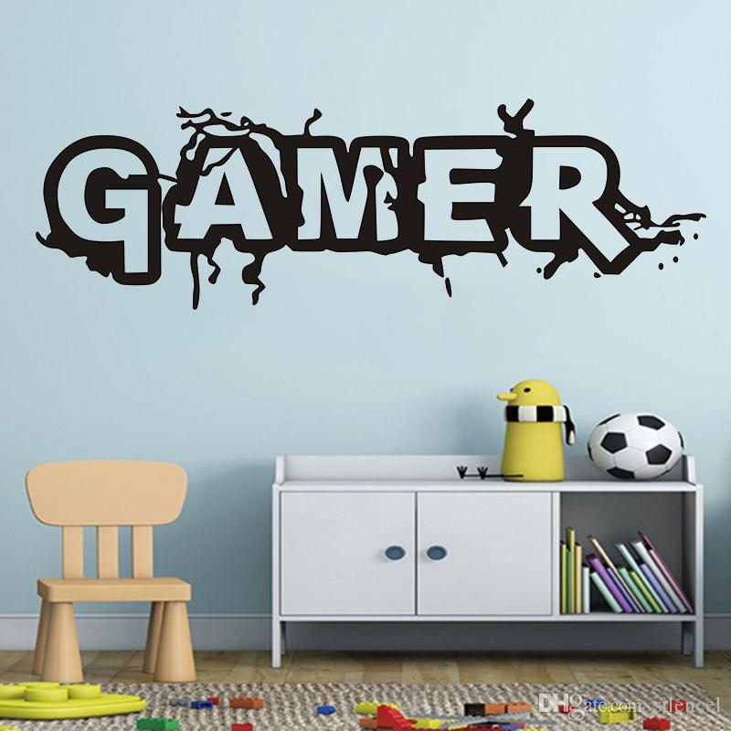 game sticker gamer decal gaming posters gamer vinyl wall decals