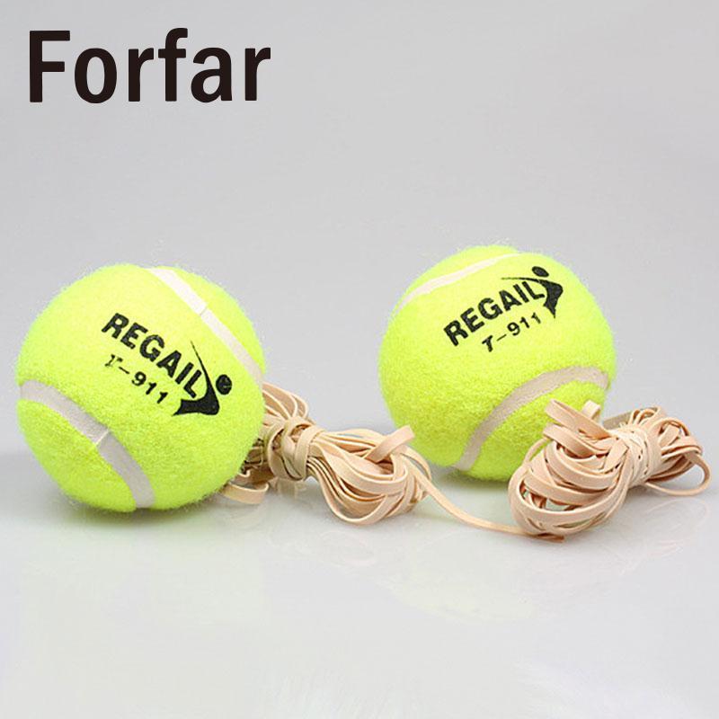 Compre Forfar Bola De Tênis Com Corda De Borracha Elástica Iniciantes  Trainer Único TrainTool De Enjoyweekend 43579651ab37b