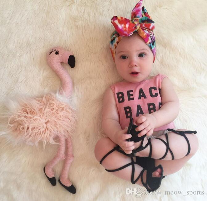 Детские летние девушки комплект одежды Алфавитный печати бахромой костюмы Детская одежда малыша топ + шорты 2шт девочка костюмы