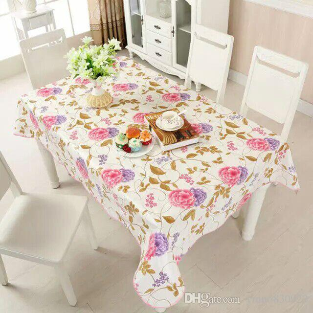 2018 137 183cm new pvc tablecloth waterproof europe rural style rh dhgate com