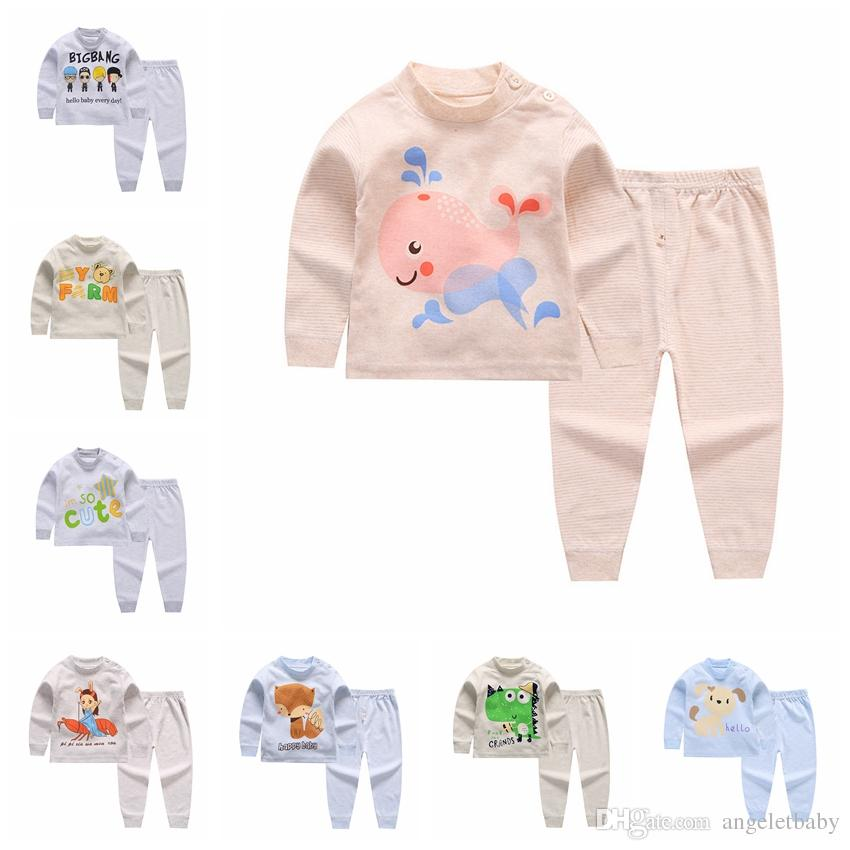 5be399a1c Children Baby Boys Girls Clothing Sets Tracksuit Cotton Sport Suit ...