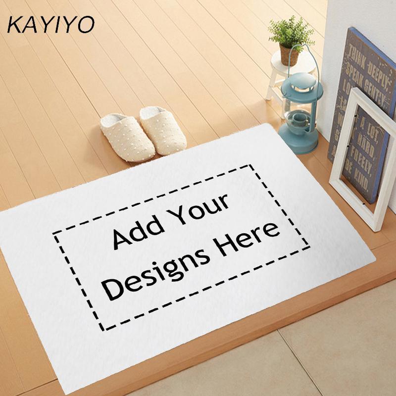 kayiyo customized flannel doormat home decor print door mat bathroom rh dhgate com