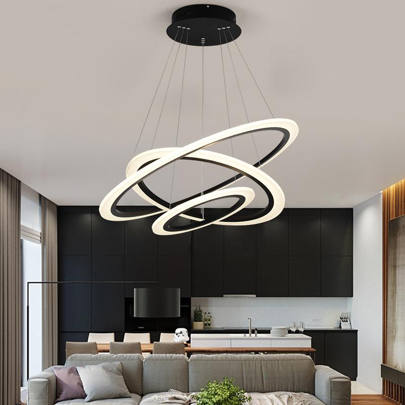 Minimalism Modern Led Pendant Lights For Diningroom