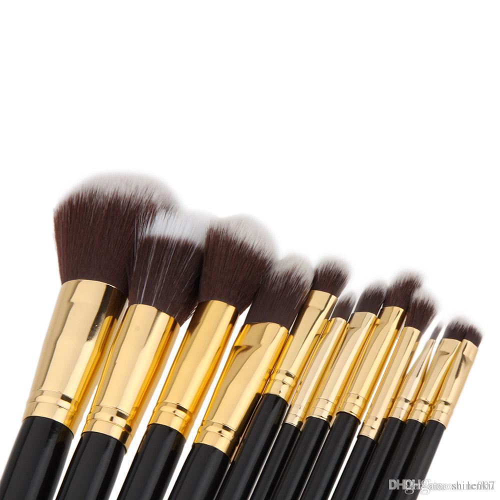 Professional Cosmetic Makeup Brush Set Wood 12Pcs Blending Makeup Brushes Kit Beauty Make Up Brush Tool