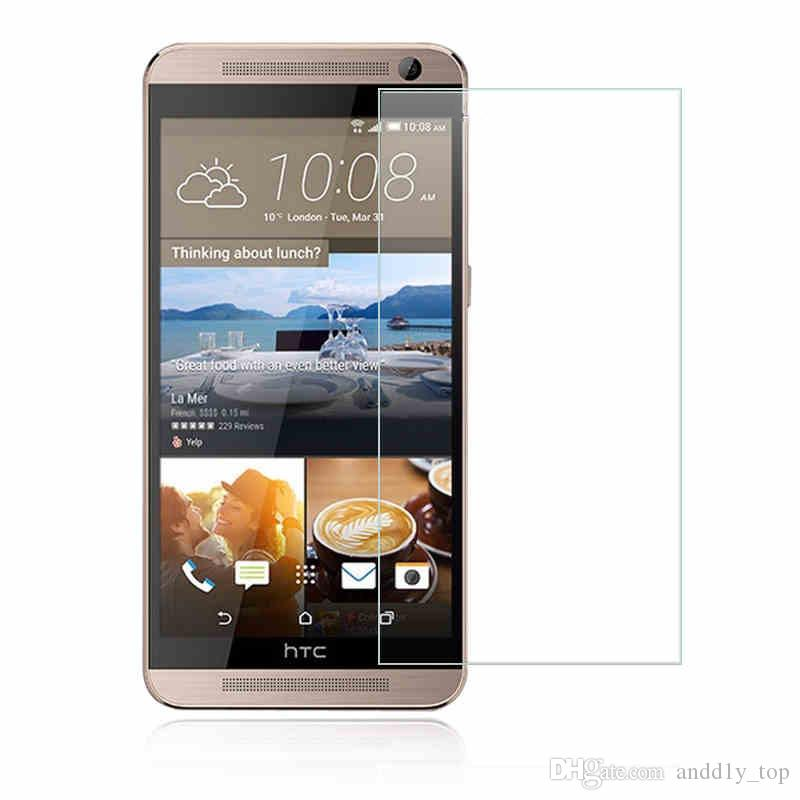 For HTC 0.26mm 9H 2.5D Hardness Tempered Glass Screen Protector Film Cover Guard for htc one m7 m8 m9 m9 Plus M10