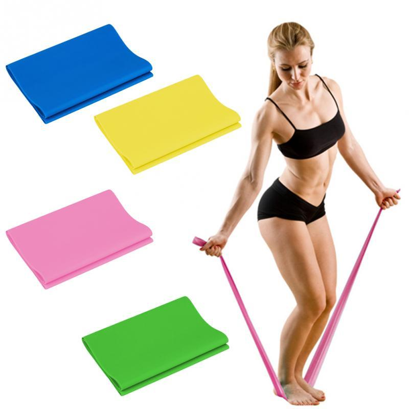 120cm Natural Tension Health Elastic Exercise Sport Body Latex
