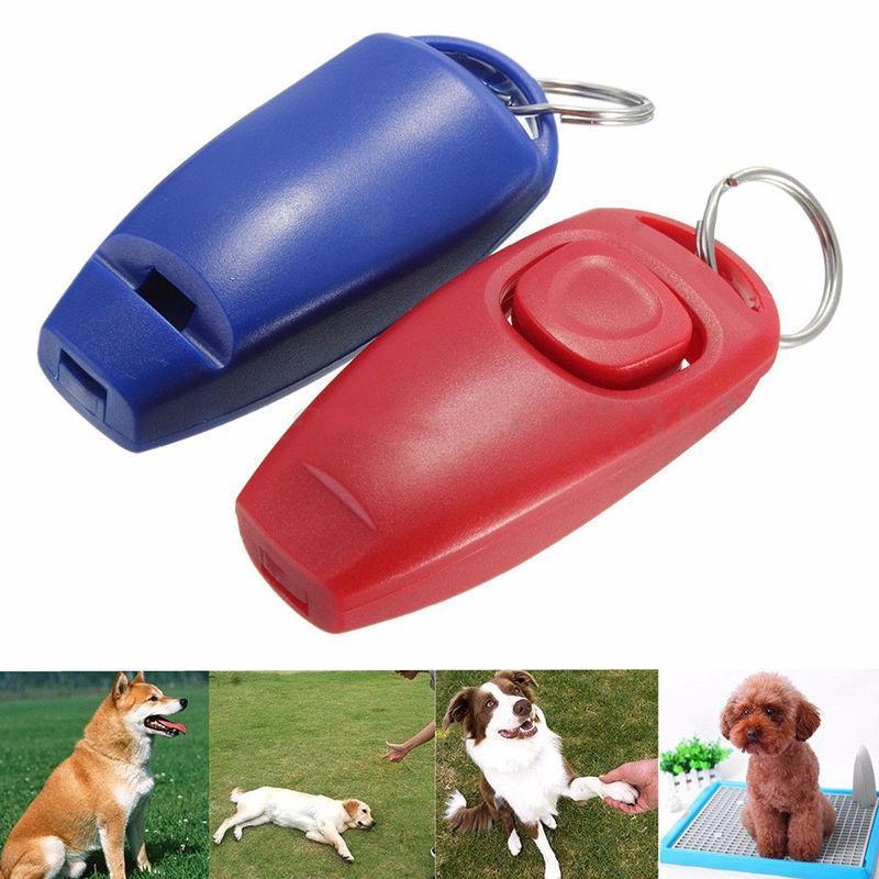 Neue zufällige Farben erhältlich Aluminiumlegierung Haustier Hund Hund Tier Training Gehorsam Sound Whistle Supplies Großhandel