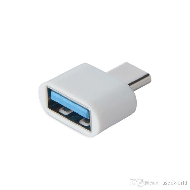 Adaptateur Type-C OTG USB 3.1 À USB2.0 Adaptateur Type-A Pour Samsung Huawei Téléphone Haute Vitesse Certifié Accessoires de Téléphones Mobiles
