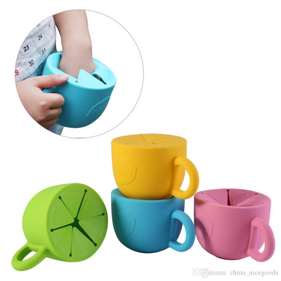 Best Baby Infant Bowl Snack Dishes Silicone Cup Toddler Kid Feeding