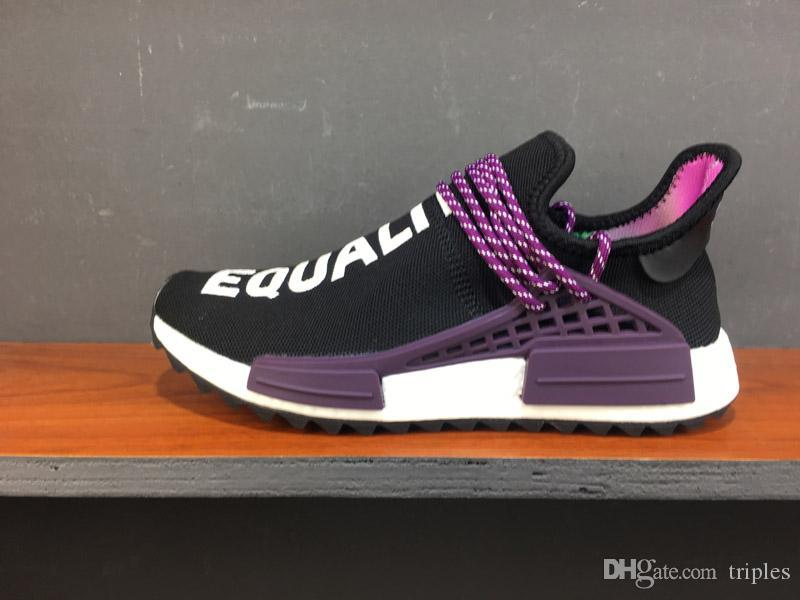 aa30a3be273a8 Wholesale NMD Human Race Pharrell Williams Hu Trail NERD Men Womens ...