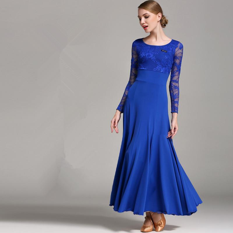 91e0711d2 New Style National Standard Ballroom Dance Skirt High-end New Modern ...