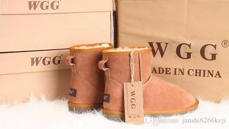 Hot Winter Snow Boots Classic WGG 5854 Women Warm Mini Boot Christmas Ladies Minis Shoes Chestnut Chocolate Grey Black Sale