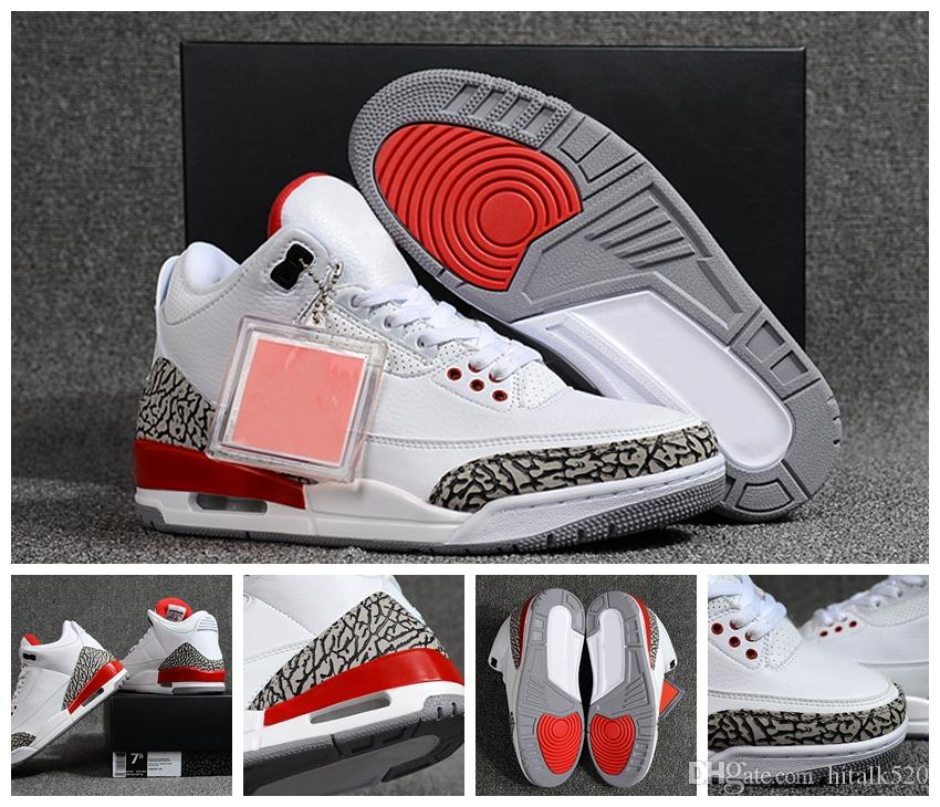 c976b18099e65e Top Quality Katrina Hurricane White Cement Fire Red Basketball Shoes ...