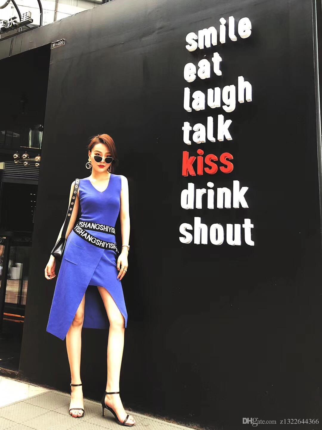 d3b79bd62e53b Satın Al En Son Moda Kadın Giyim 2018. Ünlü Marka Tasarım Saf Altın Takım  Kolej Tarzı, Aynı Stil Sokak Fotoğrafçılığı Ile Yıldız., $60.31 |  Dhgate.Com'da
