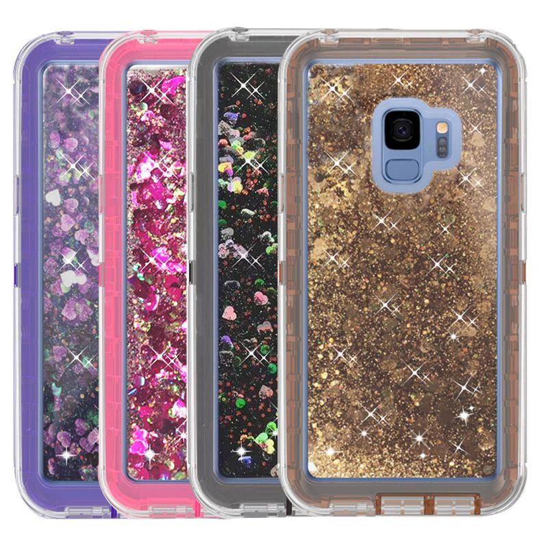 samsung s9 case liquid glitter