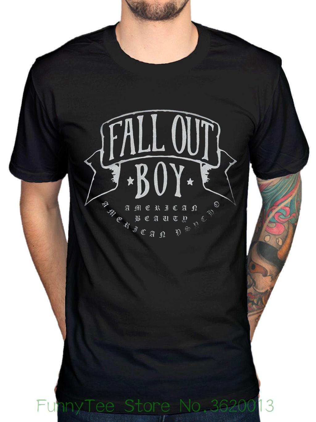 9a1c27f50 Official Fall Out Boy American Beauty T-shirt Rock Band Centuries  Merchandise