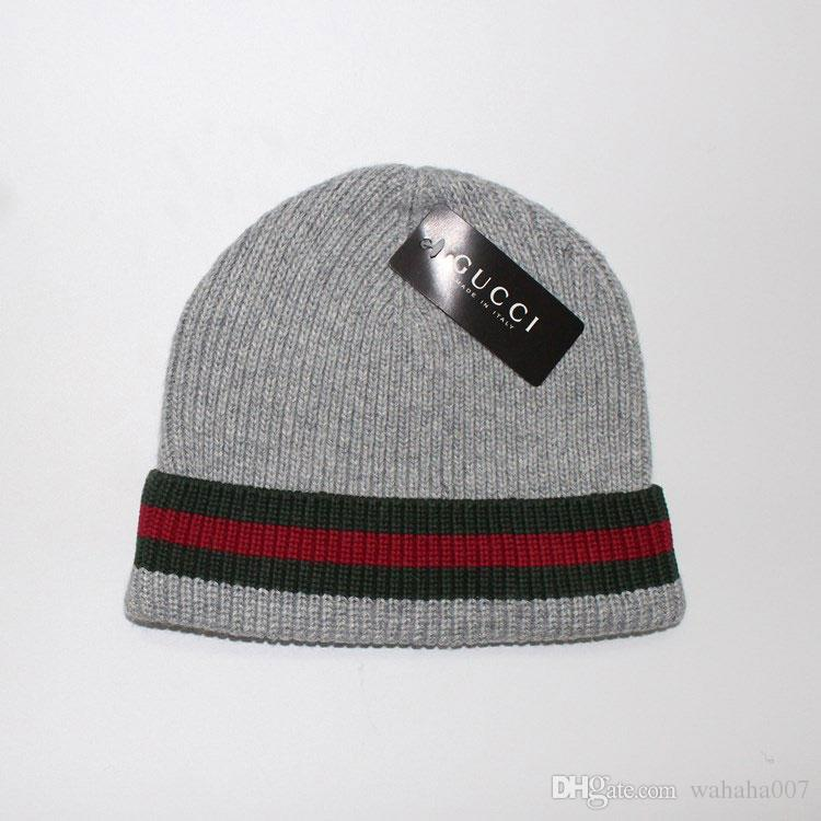 2018 Autumn Winter Hats For Women Men Brand Designer Fashion Beanies ... ee2cd340e0d7