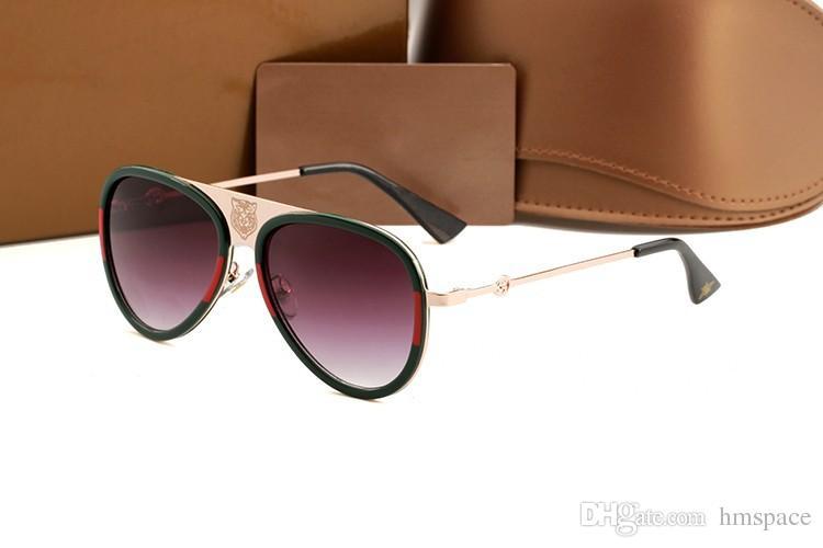 e895fe85a2 New High Quality Brand 0363 Sun Glasses Mens Fashion Tiger Sunglasses  Designer Eyewear For Mens Womens Sun Glasses High Quality Sunglasses  Sunglasses for ...