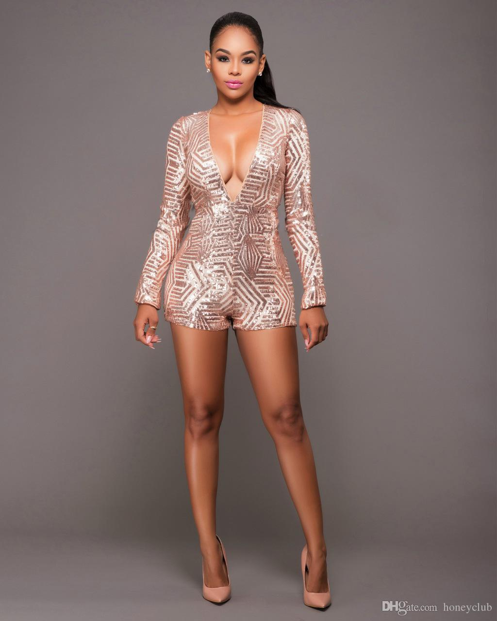 7898083a4872 Plus Size Clothing Sequin Hot Pants One Piece Jumpsuit Wedding Valentine Romper  Festival Rave Outfit Burning Man Costumes Sequin Romper Sequin Costumes One  ...