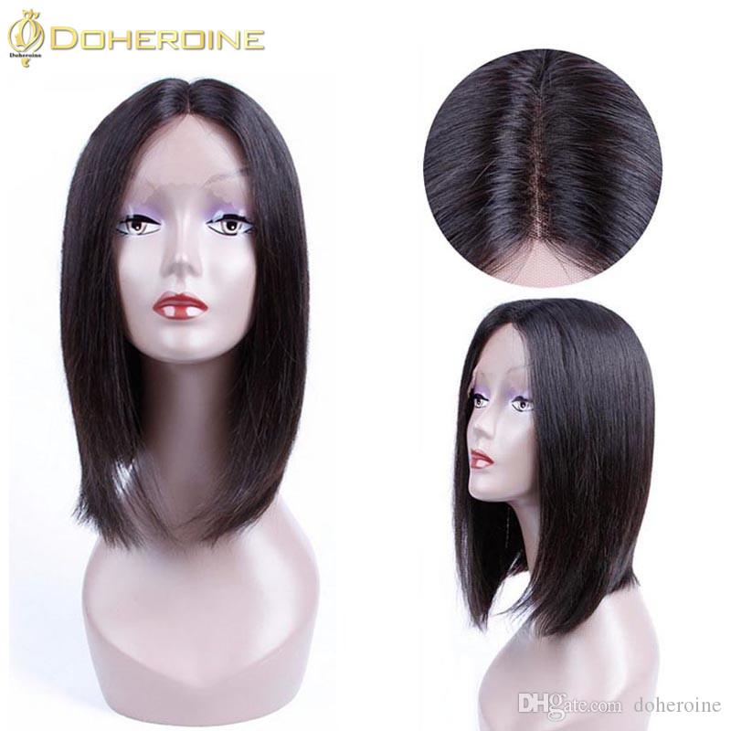 Brazilian Lace Front Human Hair Silky Straight 150% Density Plucked Natural Hairline Remy Hair wigs Human hair Lace Wigs Wholesale Price