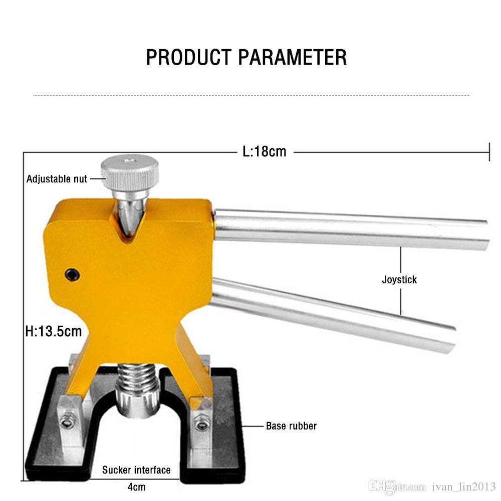 Kit Profesyonel El Araba boyasız ezik Onarım Araçları Dent Kaldırma Dent Çektirme kaldırıcı El Aracı Seti Araç kiti