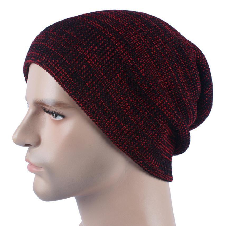 2019 Doudoulu 2017 Unisex Winter Stylish Knit Wool Ski Beanie Baggy