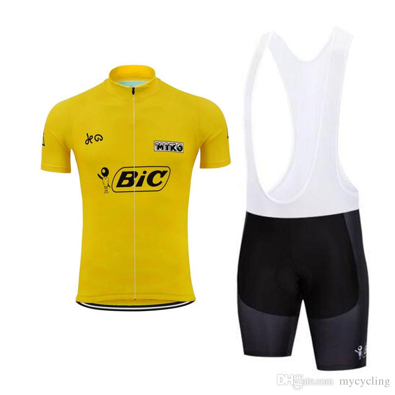 4ccc87b01 2018 BIC Team Cycling Clothes Men S Cycling Jerseys Suits MTB Bike Clothing  Ropa Ciclismo Summer Pro Road Bicycle Sport Wear F2904 Cycling Top Cycle  Tops ...