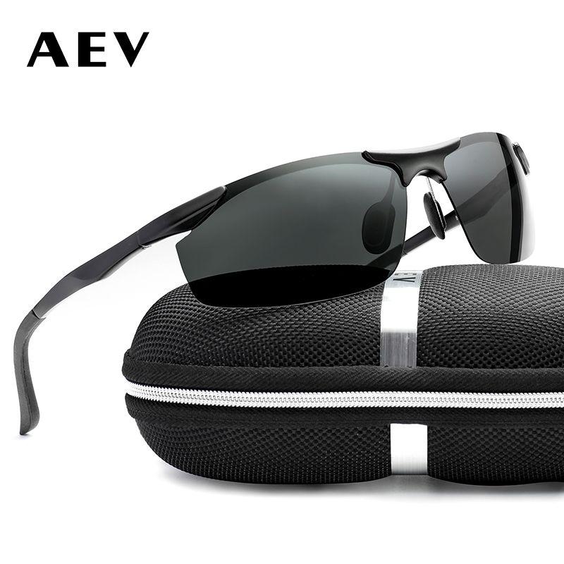 Compre AEV Marca De Alumínio Magnésio Polarizada Óculos De Sol Dos Homens  De Moda Óculos De Sol De Viagem De Condução Masculino Eyewear Oculos Gafas  De Sol ... 35863be961