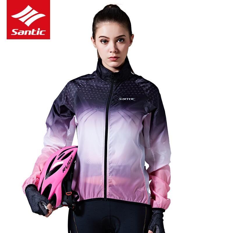 Santic Cycling Jersey Skin Coat Men And Women Windproof Waterproof Jackets  Sun Protective UPF40+ Small Rain Cycling Clothings Windproof Cycle Jacket  Cycling ... 8ba2d464e