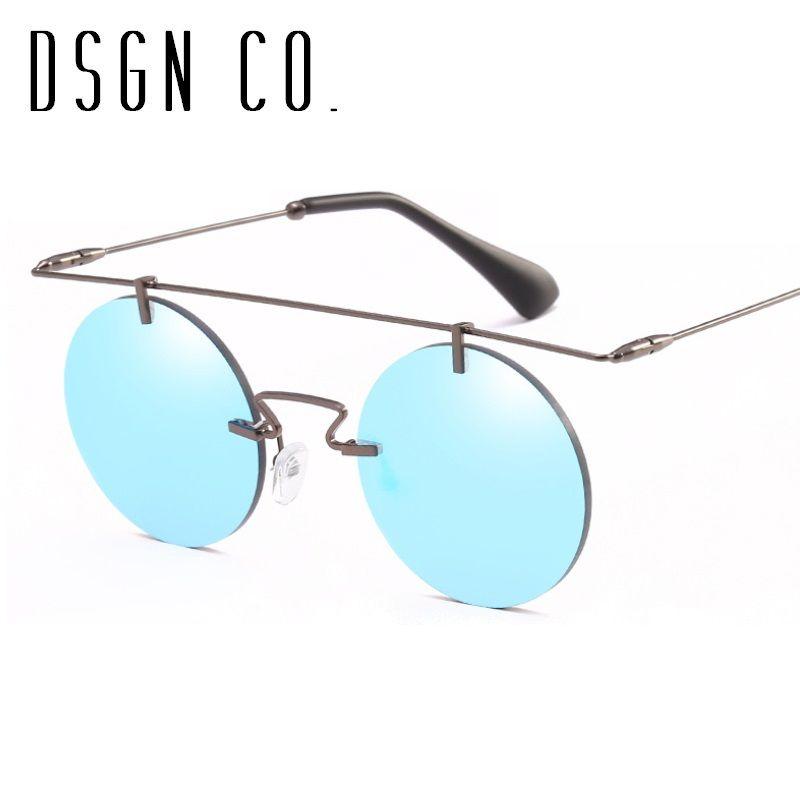 Dsgn Co. Vintage Punk Designer Sunglasses For Men And Women Retro ...