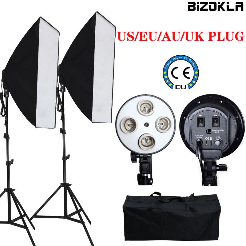 2019 Photography Lighting Kit 100 240V Led Video Light Softbox Photo Stuido  Continuous Light Lamp For Youtube+Free Portable Bag From Muju a3fe25464
