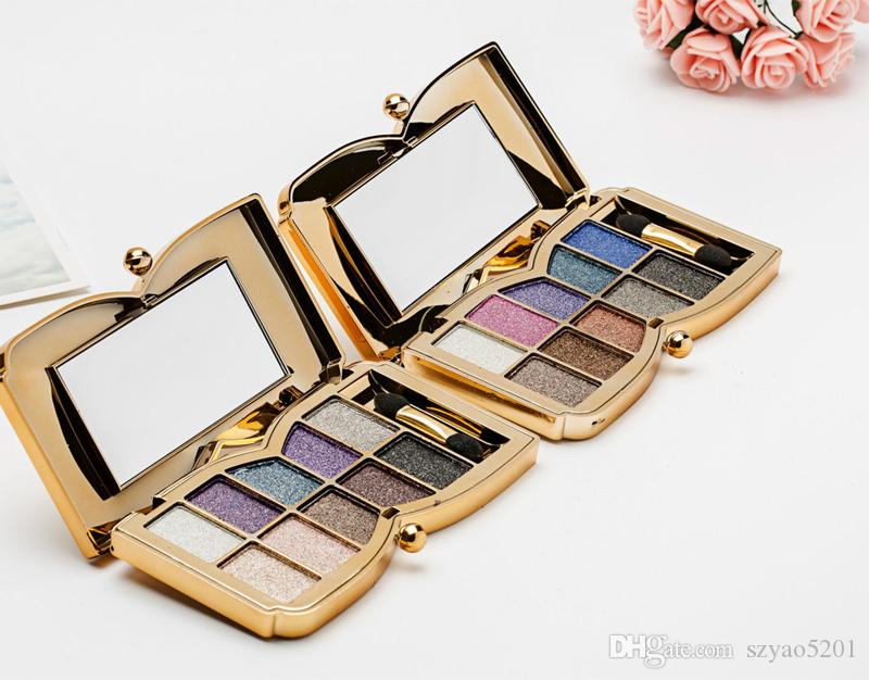 10 - color eye shadow diamond in the end bright dazzling color eye shadow super shiny high-end cosmetics