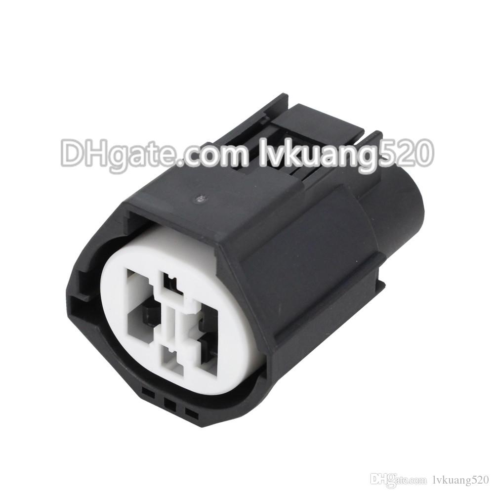 4 Pin Female Car Connector Waterproof Electric Automotive Wire Connector Sealed Car Plug DJ7049Y-1.5/9.5-21 With Terminal
