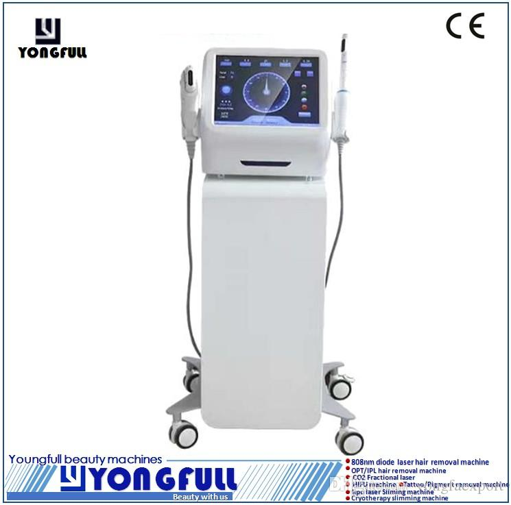 3 in 1 multifunction CE,LVD,ECM Approved portable face lift wrinkle removal body slimming shapping weight lossvagina tightening HIFU machine