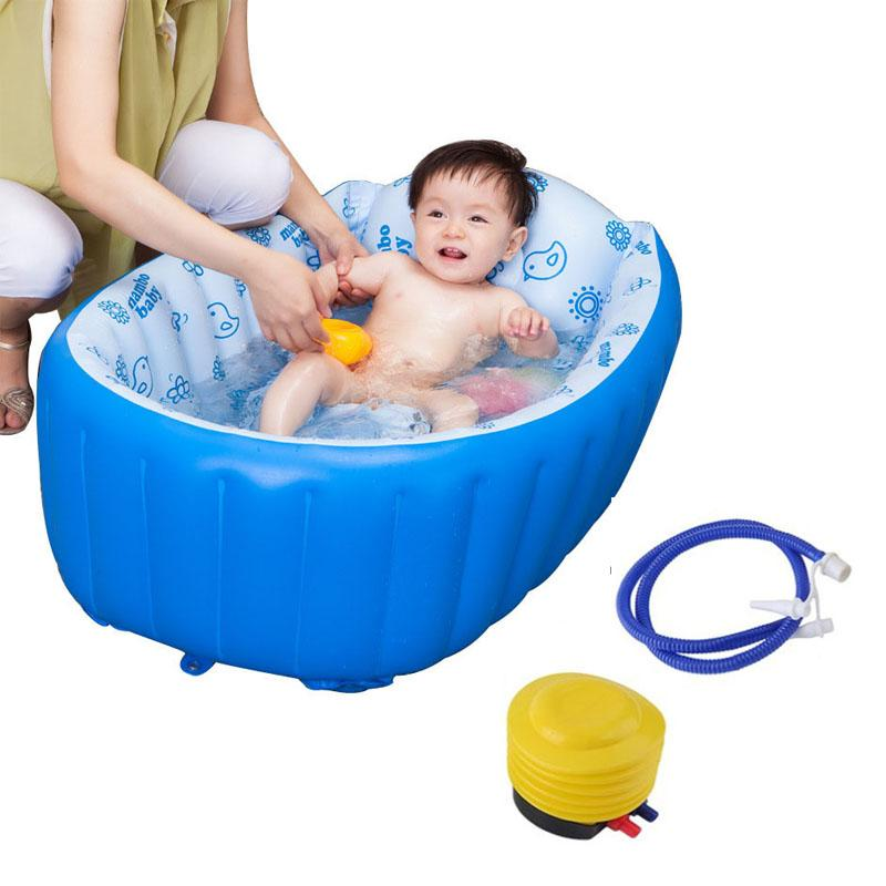 2018 Plastic Baby Tub Swimming Pool Portable Bathtub Inflatable Bath ...