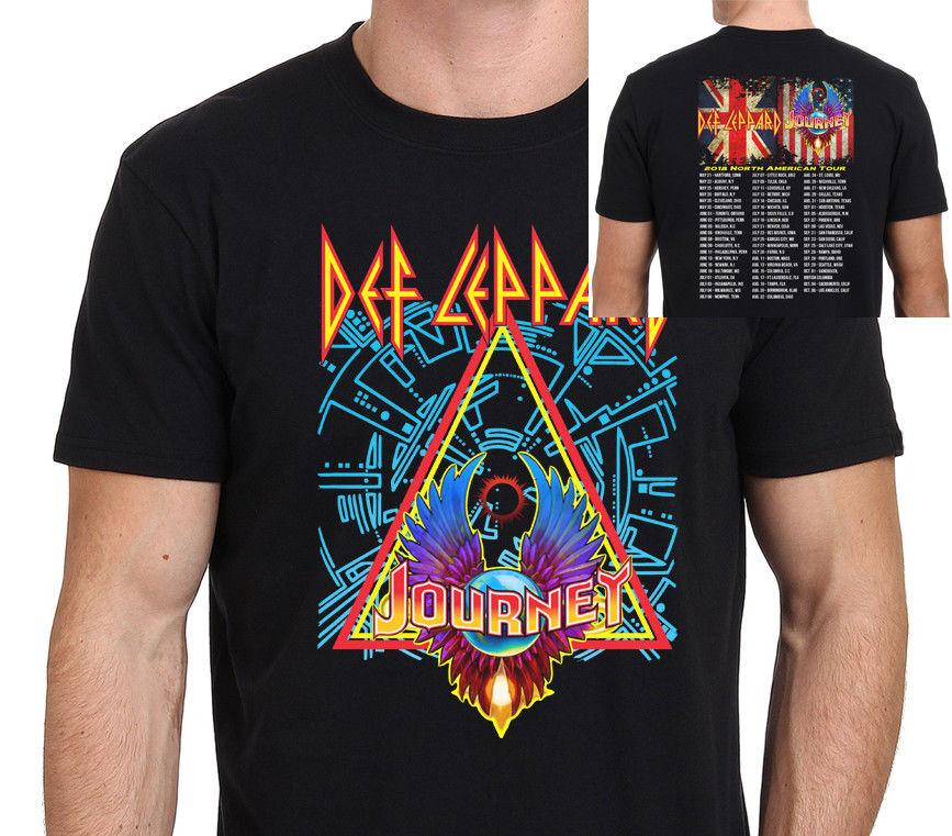 Def Leppard With Journey North American Tour 2018 T Shirt