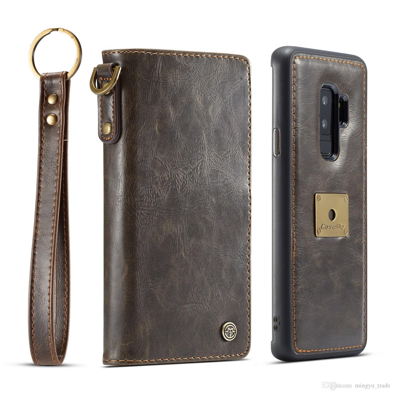 Nuevo De lujo inteligente a prueba de choques Cuero Billetera Estuche Cubierta para iPhone Samsung Apple