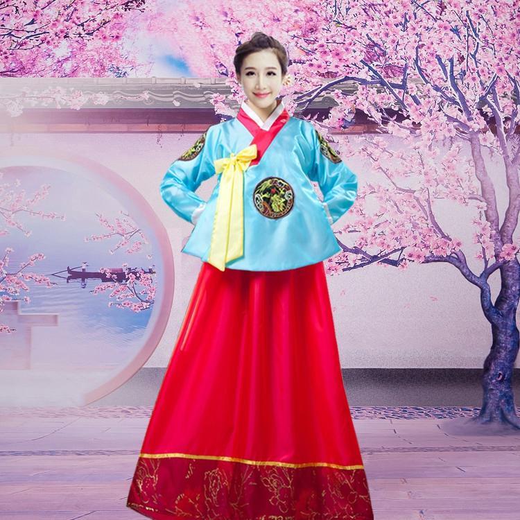 Acquista 2018 Estate Tradizionale Abito Hanbok Coreano Femminile Coreano  Folk Dance Dance Costume Costume Tradizionale Corea Del Partito A  34.27 Dal  ... b8b5c4b0ce1